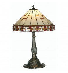 Aremisia Tiffany Table Lamp 16""
