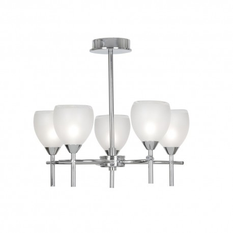 Etta Ceiling Light Chrome