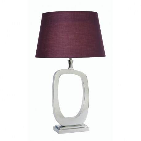 Sakura Table Lamp Chrome
