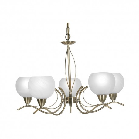 Luanda 5 Light Pendant