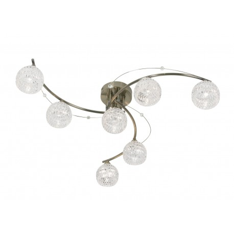 Pesaro 7 Light Semi-Flush