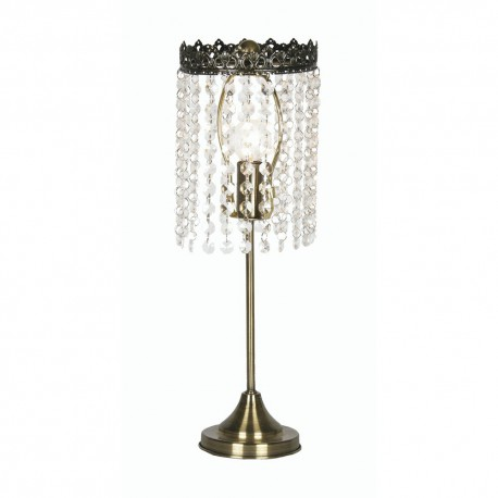 Ekon Glass, , Beaded Touch Lamp