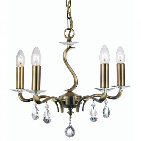 Cobra Small 5 Light Pendant